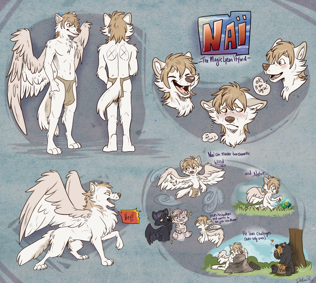 Nai - ref-sheet by Little-shewolf9