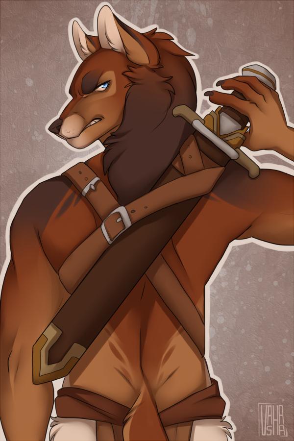 Nameless Hero - Warrior by Little-shewolf9