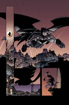 Greg Capullo's Batman art - Paulo Kalvo colors - 1