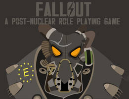 Fallout 2 Enclave poster v.2 by Gab3n