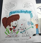 Lynn Louds Diaper Punishment (Commission)