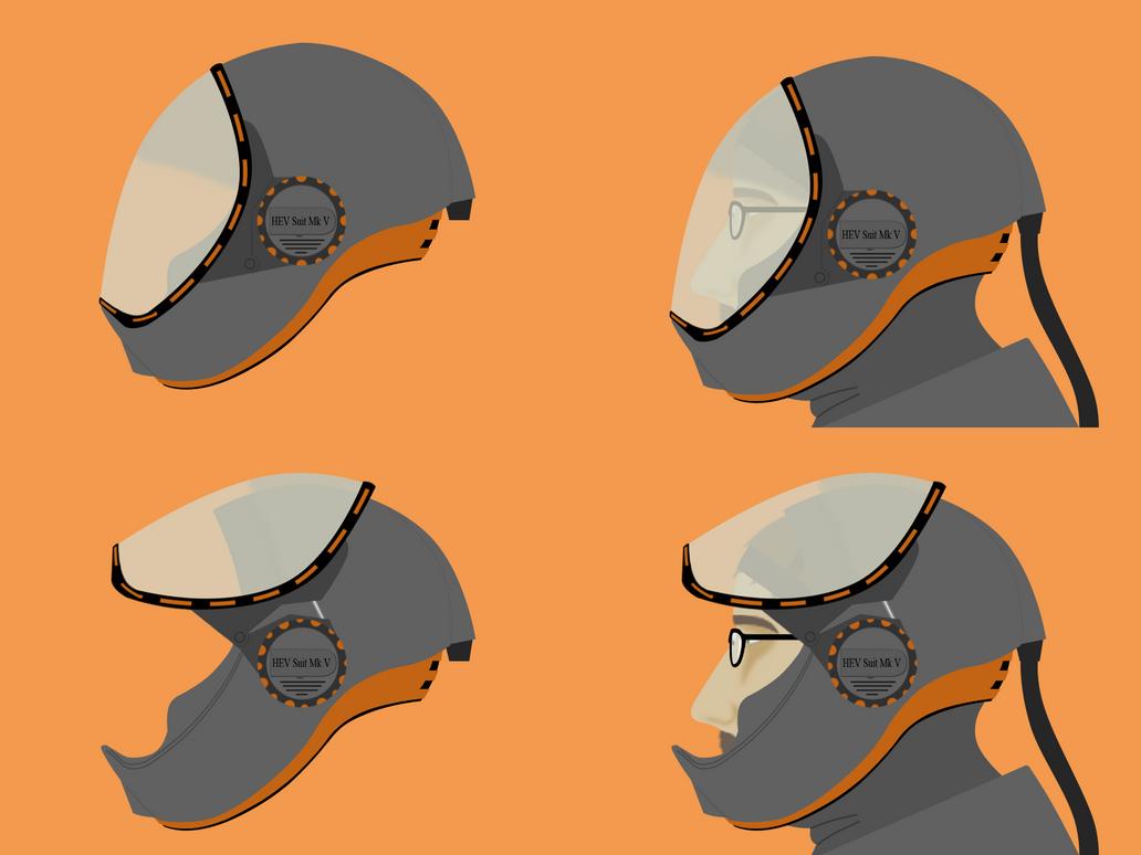 HEV Suit Helmet by Darvel on DeviantArt