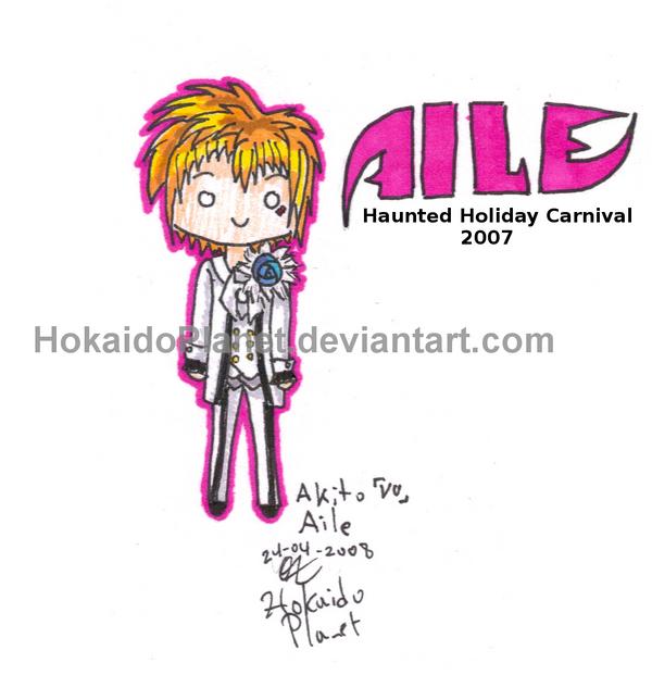 AILE - Akito chibi by HokaidoPlanet
