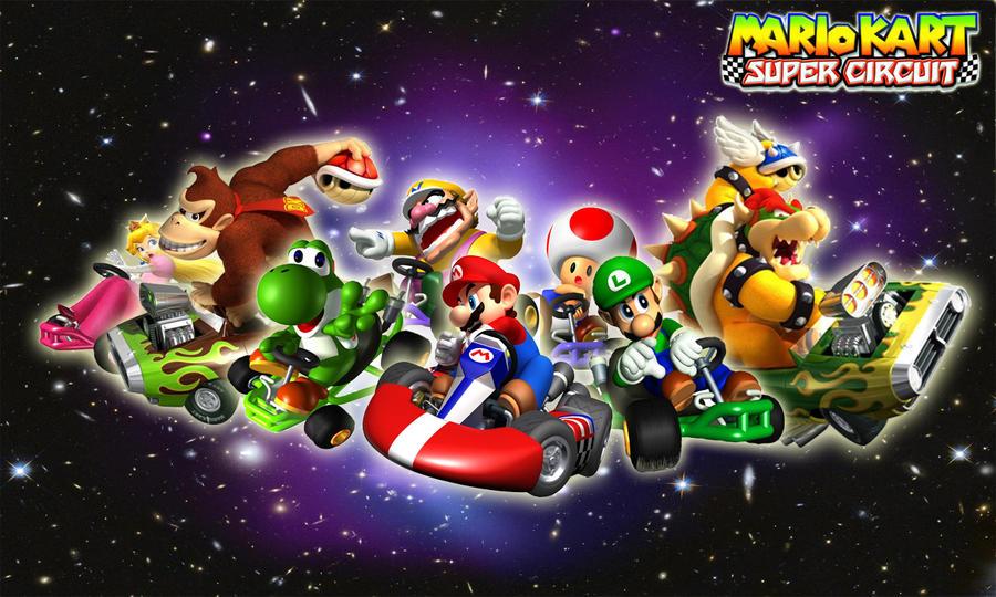Mario Kart HD Wallpaper by QuorraTheIso