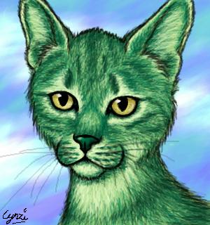 Beastboy Cat by Storm-fox