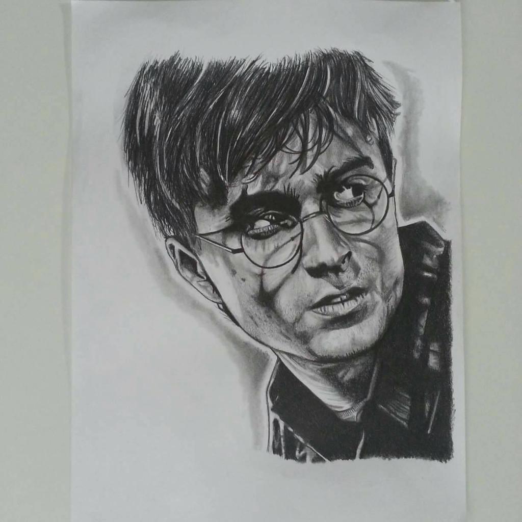 harry potter pencil portrait by gah art 87 on deviantart. Black Bedroom Furniture Sets. Home Design Ideas