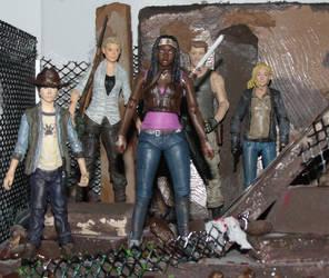 The Walking Dead TV figures