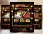 Food Restaurant Flyer Poster