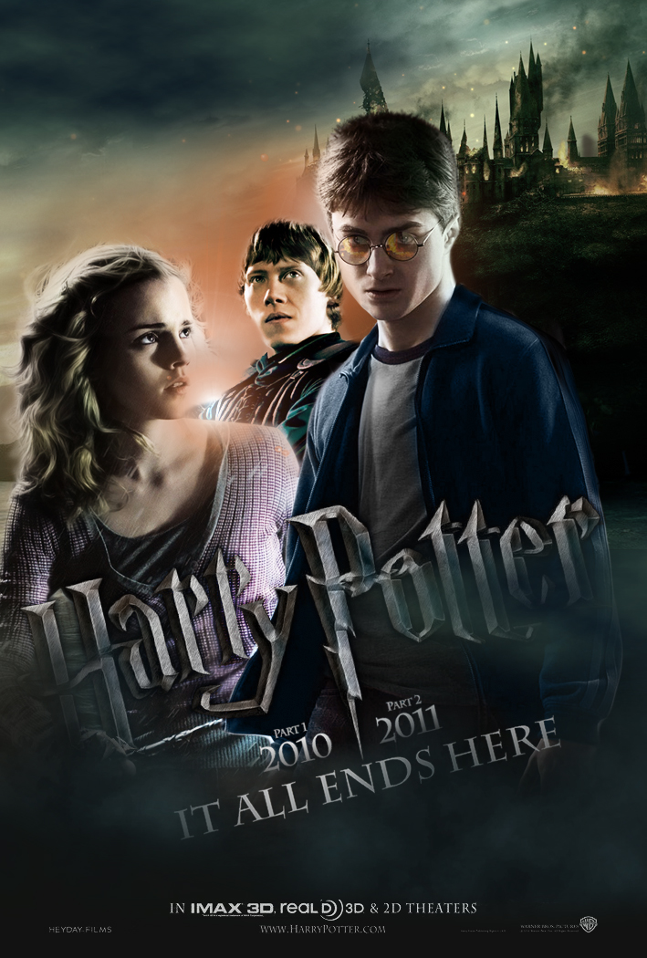 Harry Potter 7 poster by Hardgamerpt on DeviantArt