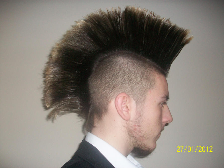 Hair Style Mohawk: Current Mohawk Style By Zodiax3 On DeviantArt