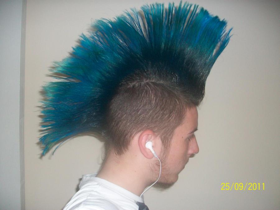 Blue Mohawk