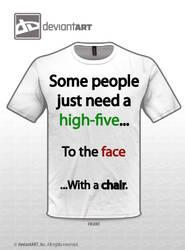 High 5 shirt by Zodiax3