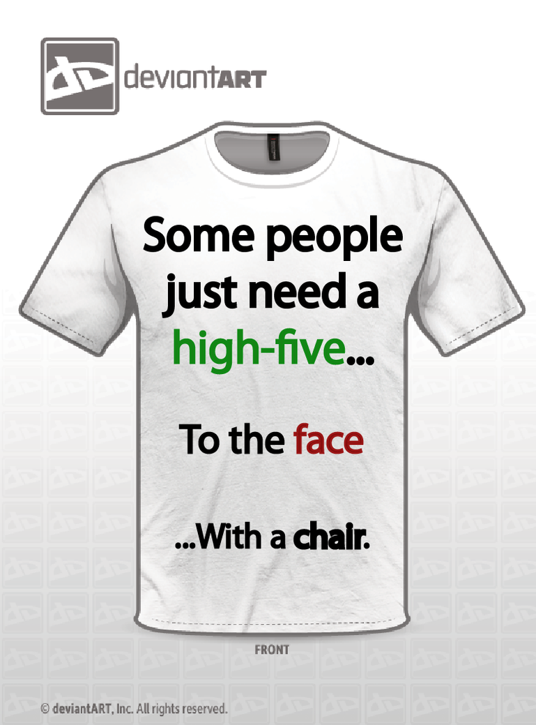 High 5 shirt by Zodiax3