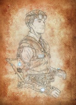 Steampunk Connor