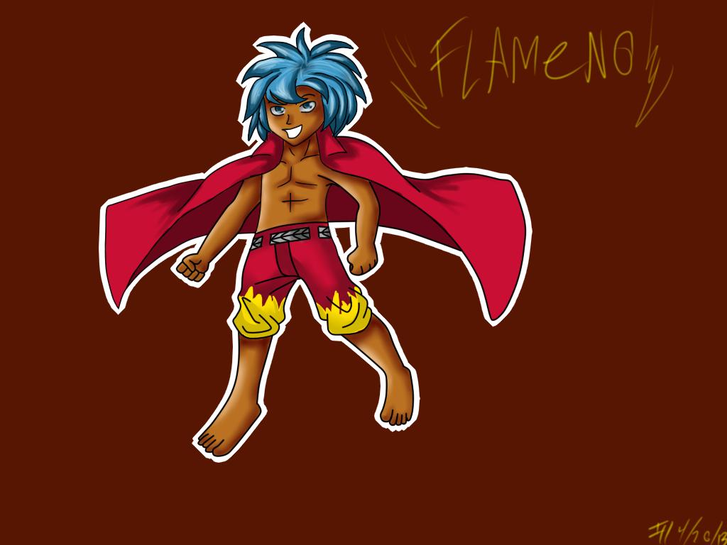 Flameno by II-KuroTheFox-II