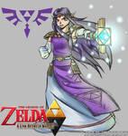 The princess of Lorule Hilda