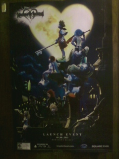 My new KH 1.5 Remix Poster :3 :3!! by AnthroKagamine