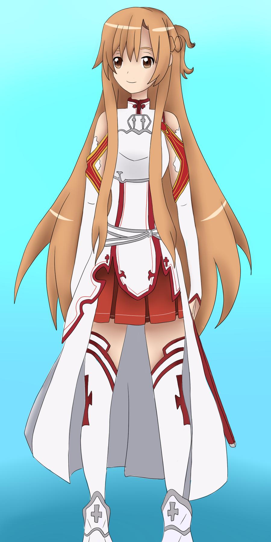Asuna, SAO by iAysa