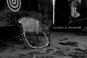 Forgotten chair by CutieSky