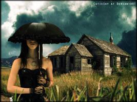 Under the umbrella by CutieSky