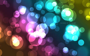 Colour bubbles wallpaper by CutieSky