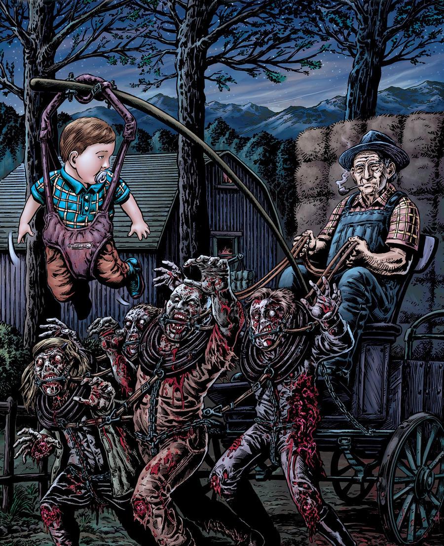 Zombie Fun by xo4y-amerikanky