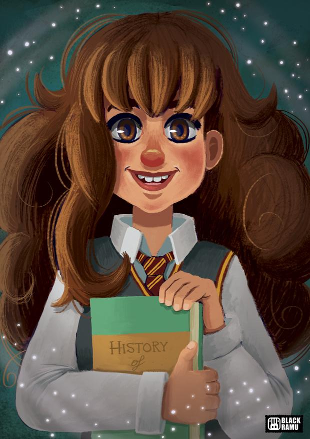 Hermione by BlackRamu