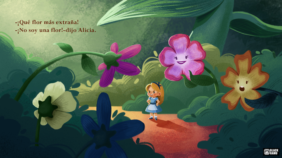 Classic Tales: Alice in Wonderland by BlackRamu