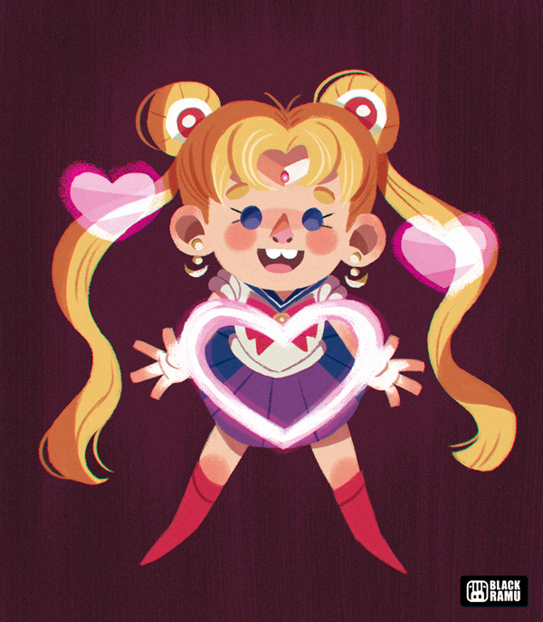 Sailor Moon by BlackRamu