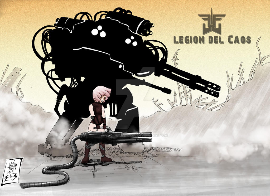 Robot de Shanny by Legion-del-caos