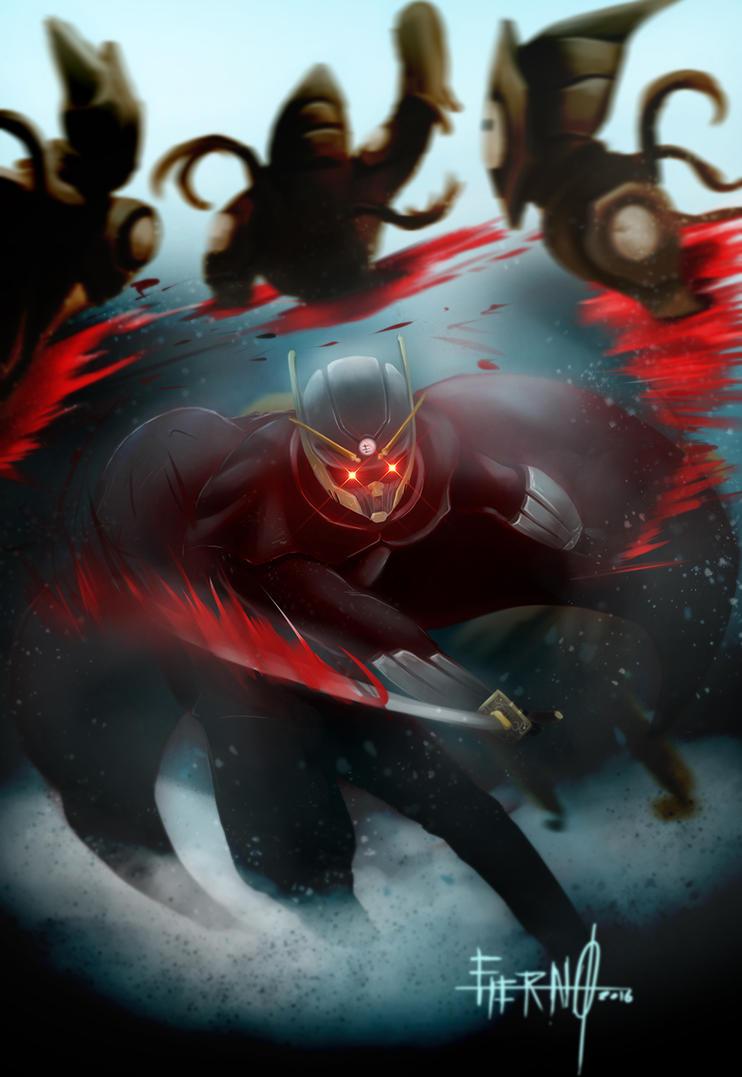 Etario vs mutantes by Legion-del-caos