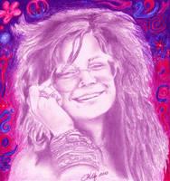 Janis Joplin by ghostgirl69