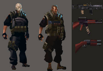Soldier Layouts