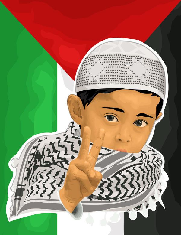 get peace get victory - WIP by artstuck