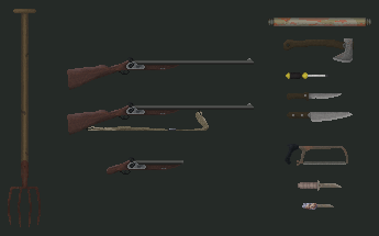 Weapons and Tools by KaavenKavos
