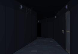 Cryo Facility Corridor by KaavenKavos