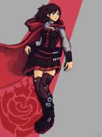 RWBY - Ruby Rose fanart by AdventuringArtist