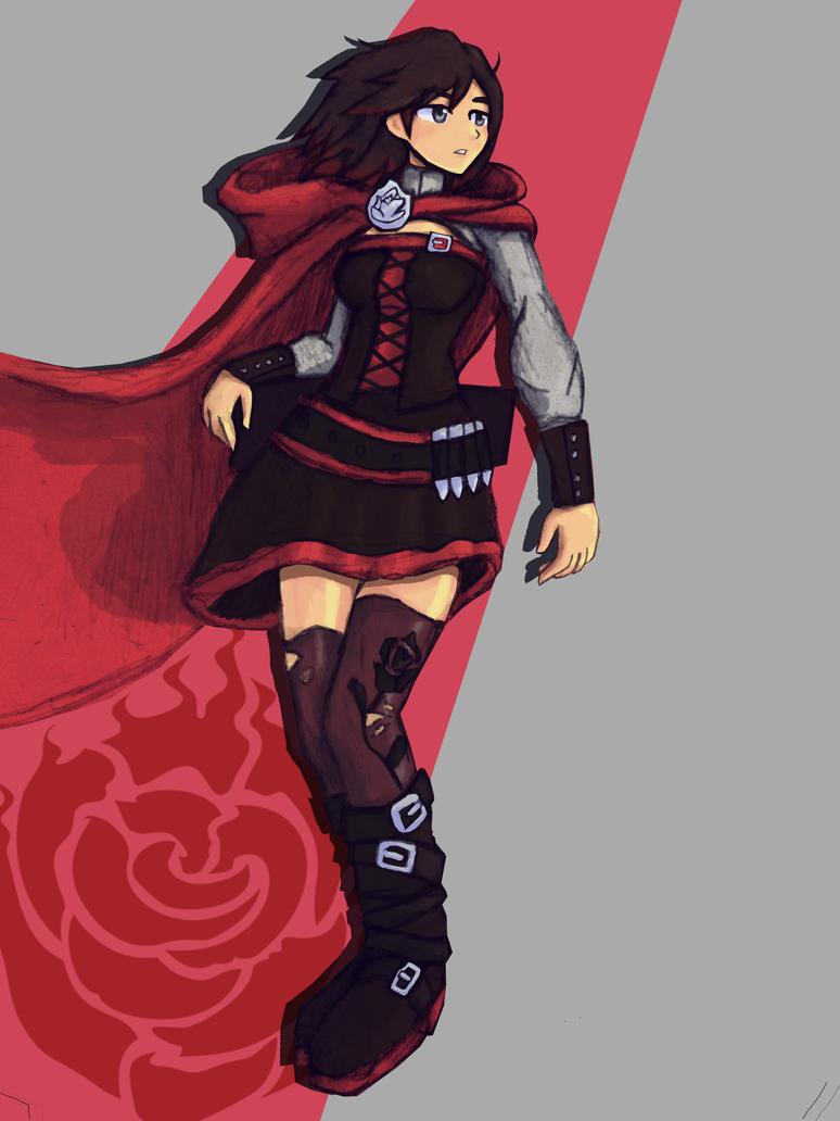 Rwby ruby rose fanart by adventuringartist on deviantart - Rwby ruby rose fanart ...