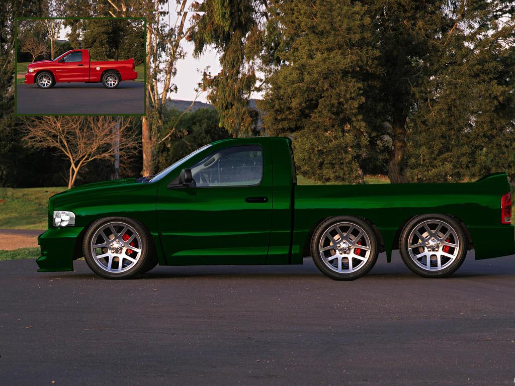 6x6 Dodge Ram By Jonathanduncan On Deviantart