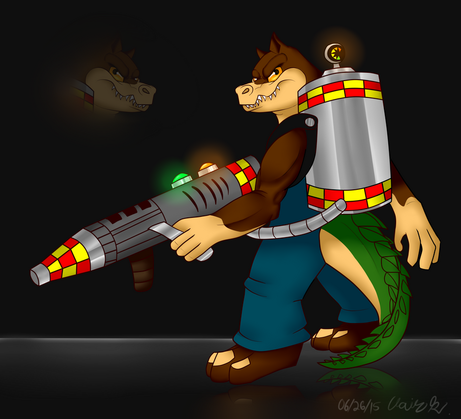 AT:Dingodile by Red-Dragon-Blaze