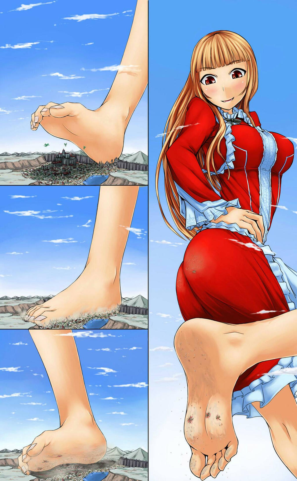 Giantess blood vore pron images