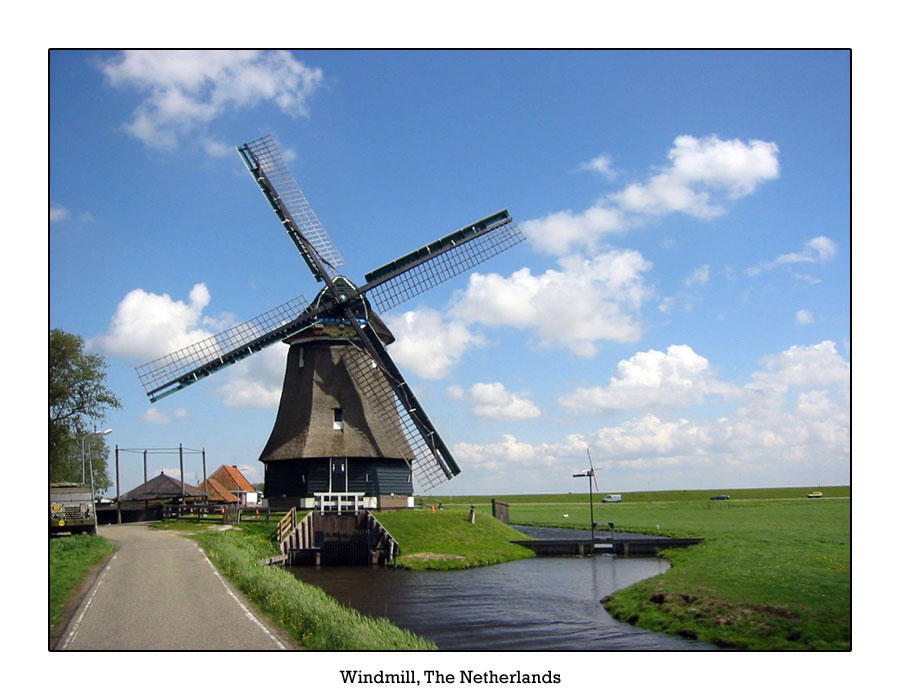Windmill, The Netherlands by samtihen