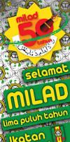 Milad 50 tahun Ikatan Pelajar Muhammadiyah