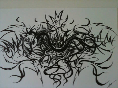 Freestle live drawing