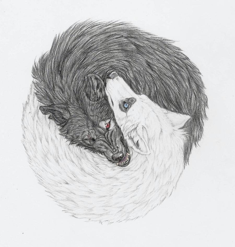 Vicious Wolf Tattoo Designs