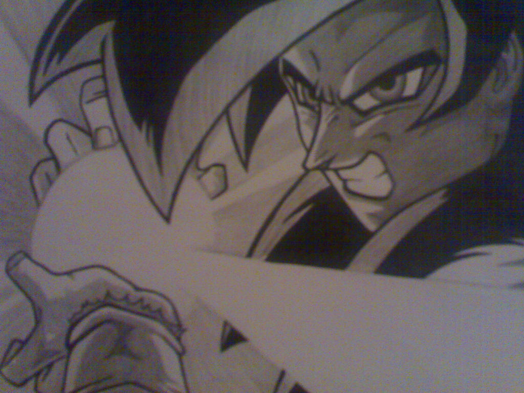 Goku Super Saiyan 4 kamehameha by pschosilver on DeviantArt