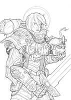 Sister of battle by Teanamora