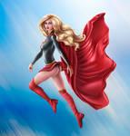 Supergirl Commission By Ladykraken