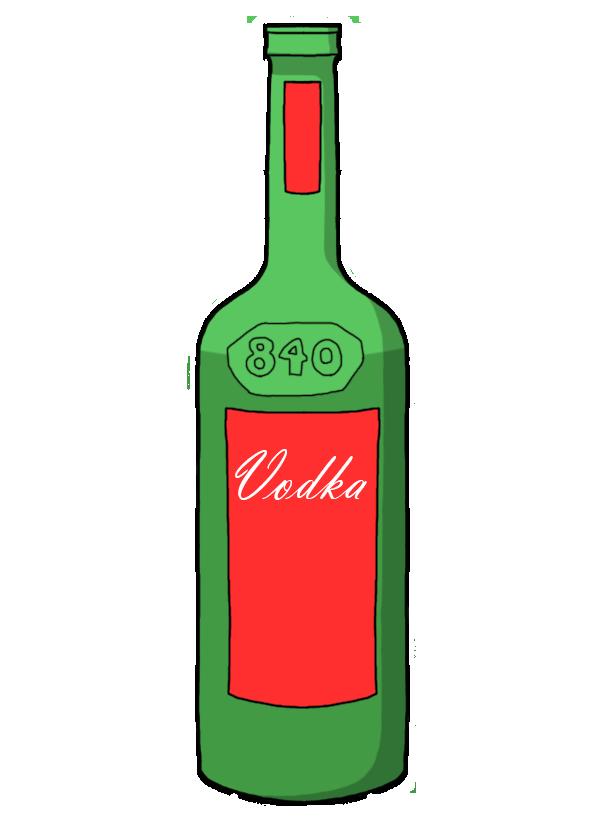 Vodka Bottle by D0ct0rrR1cht0f3n