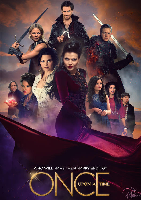 Resultat d'imatges de once upon a time poster